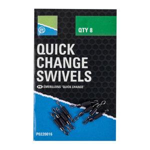 Preston Innovations Quick change swivels