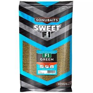 Sonubaits F1 green sweet fishmeal groundbait