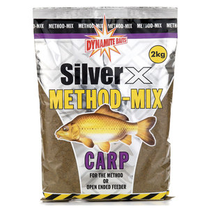 Dynamite Baits Silver x method-mix carp