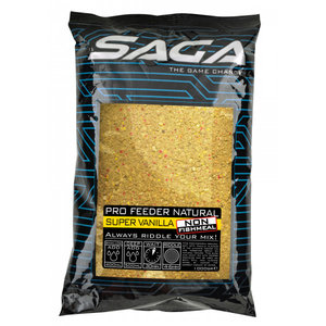 Saga Pro feeder natural super vanilla non fishmeal