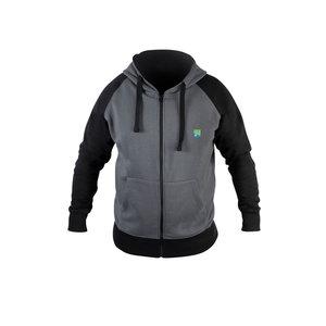 Preston Innovations Grey zip hoodie M