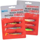 Korum Snapper ready shads 5G 7.5cm