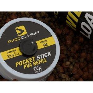 Avid Carp Pocket stick PVA refill diameter 22.5mm 5m.