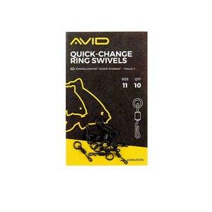 Avid Carp Quick-chance ring swivels