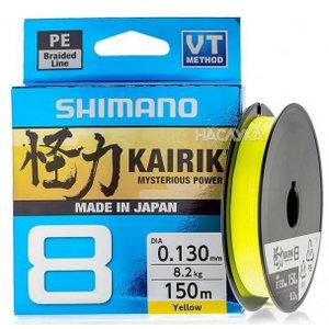 Shimano Kairiki yellow 150m