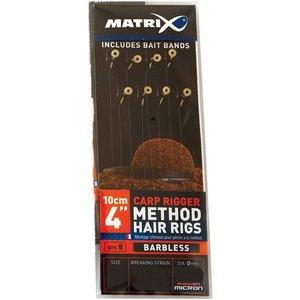 Matrix Carp rigger method hair rigs barbless