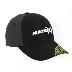 Matrix Baseball cap black/grey lime