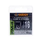Middy KM-4 carp X-strong spade hooks