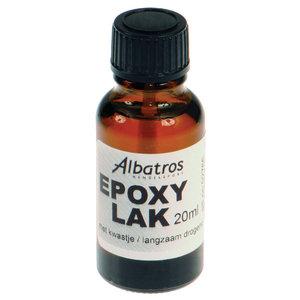 Albatros Expoxy lak met kwast 20ml