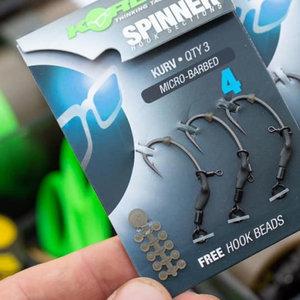 Korda Spinner hook sections kurv micro barbed