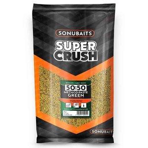 Sonubaits 50:50 method :paste green groundbait
