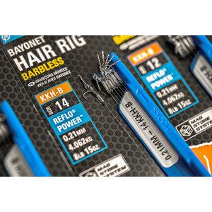 Preston Innovations Bayonet hair rig 10cm barbless