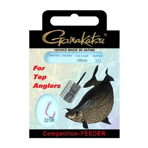 Gamakatsu Competition-feeder 22cm #20 - 0.10mm