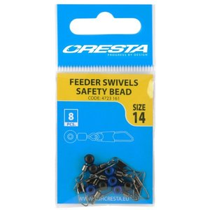 Cresta Feeder swivels wafter bead size 12