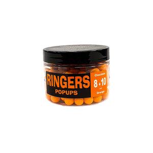 Ringers Pop ups chocolate 8+10mm orange
