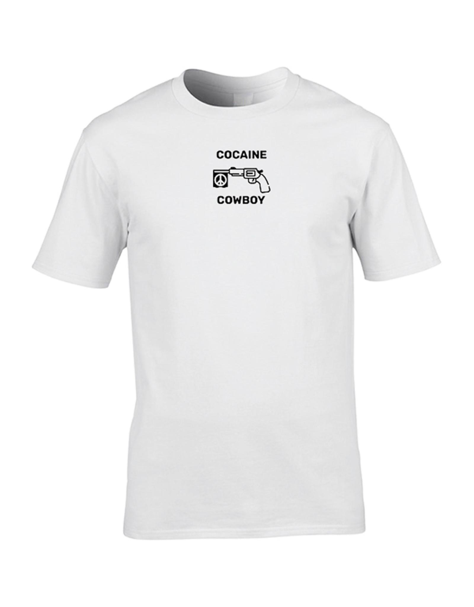 Festicap T-Shirt Cocaine Cowboy | Zacht katoen | Hand gemaakt