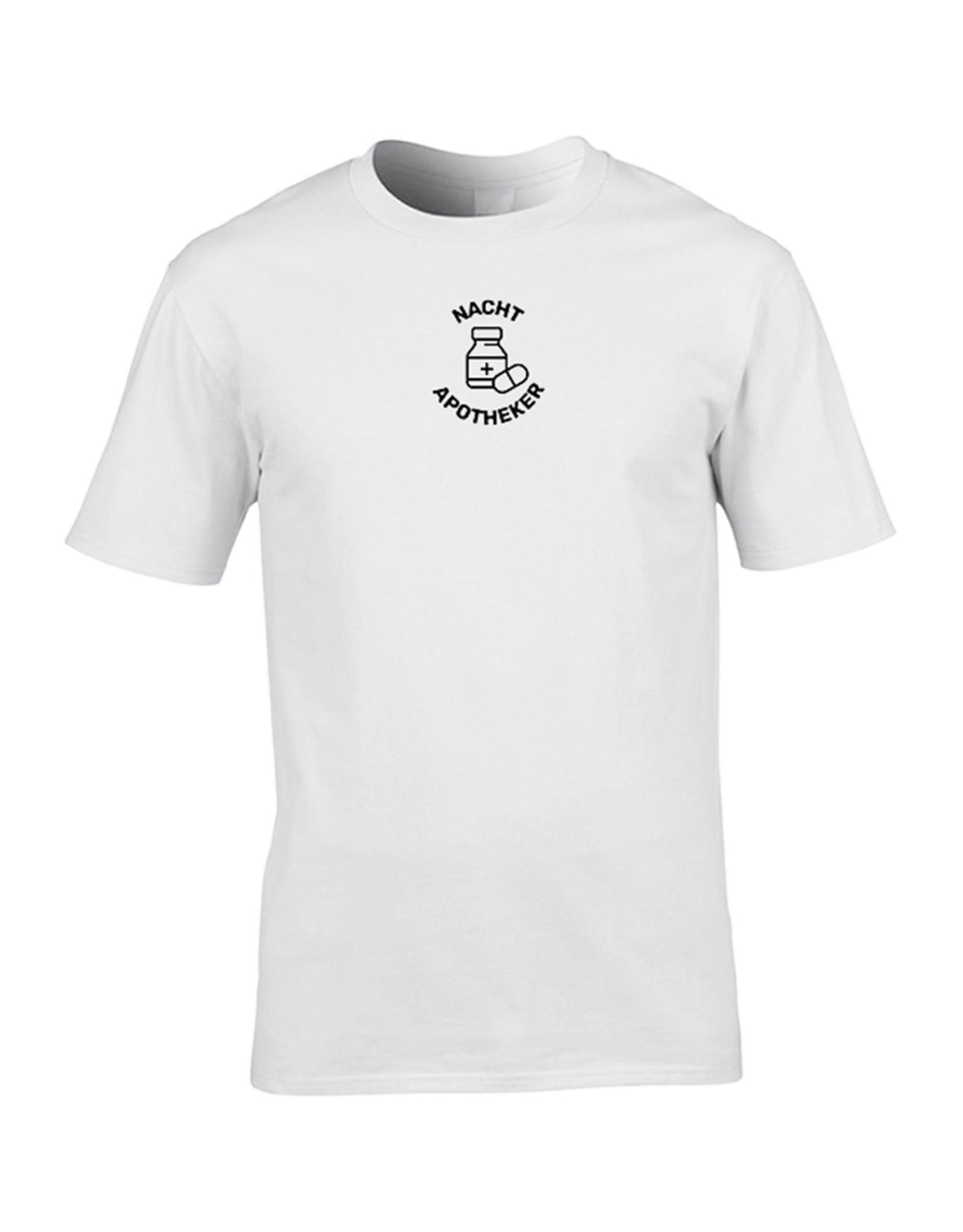 Festicap T-Shirt Nacht Apotheker | Zacht katoen | Hand gemaakt