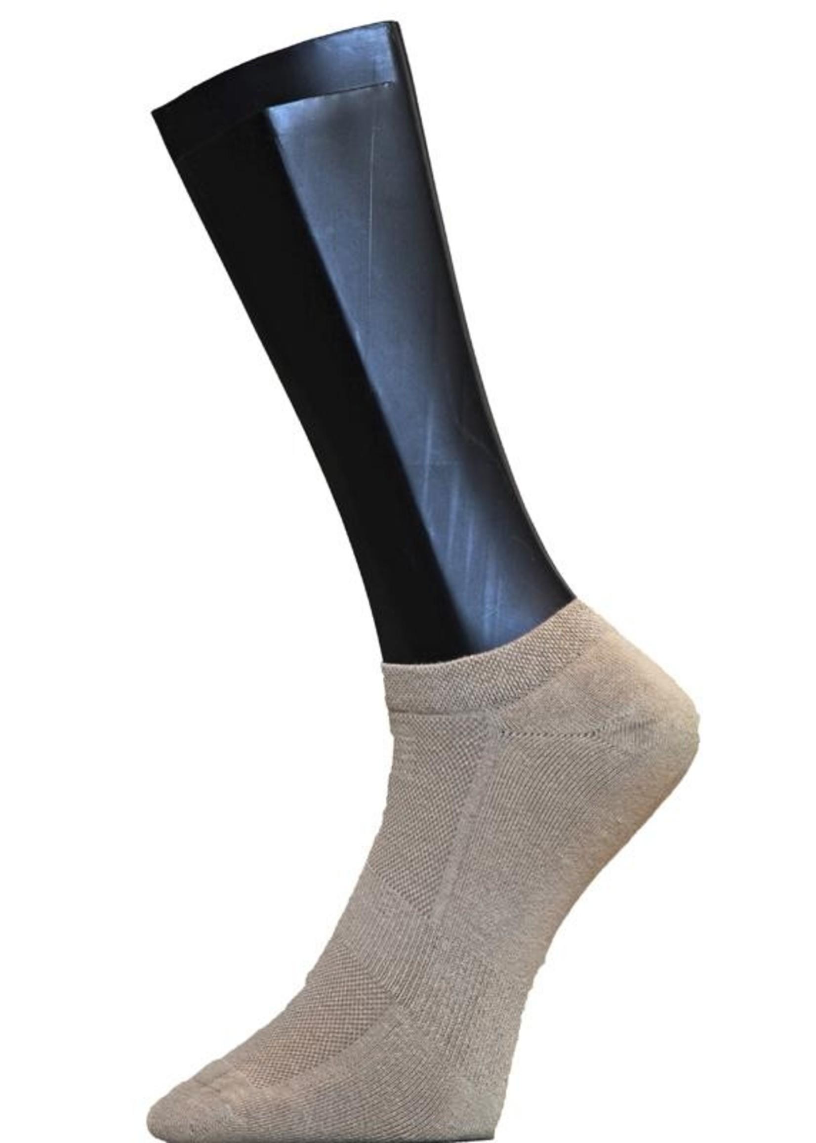 Sneaker badstofzool - Beige (2 paar)