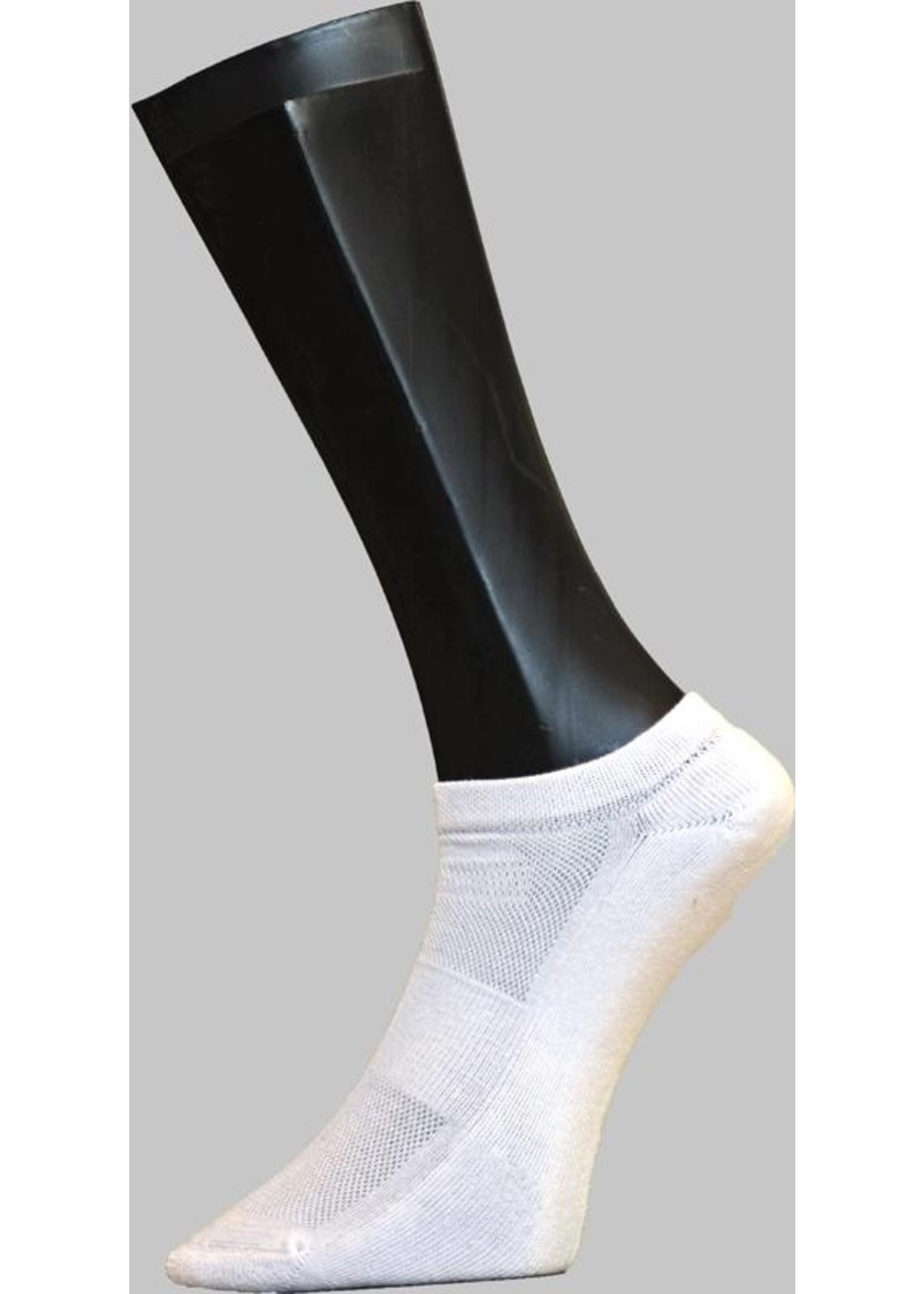 Sneaker badstofzool - Wit (2 paar)