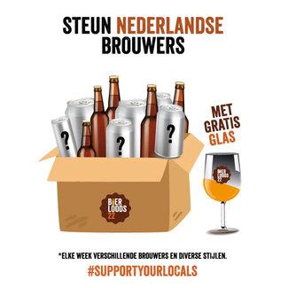 Bierloods22 Beerbox - Support Your Locals