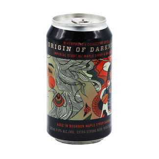 Collective Arts Brewing Collective Arts Brewing collab/ Mikerphone Brewing - Origin of Darkness w/ Maple Syrup & Walnuts