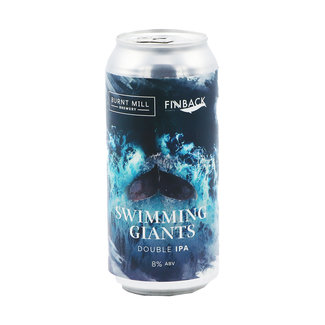 Burnt Mill Brewery Burnt Mill Brewery collab/ Finback Brewery - Swimming Giants