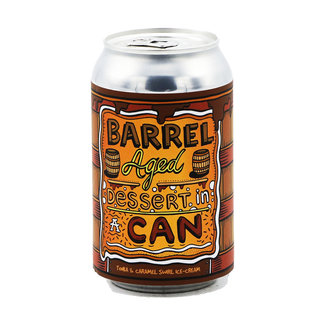 Amundsen Bryggeri Amundsen Brewery - Barrel Aged Dessert In A Can - Tonka & Caramel Swirl Ice-Cream