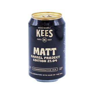 Brouwerij Kees Brouwerij Kees collab/ Hair of the Dog Brewing - Barrel Project 21.04 - Matt