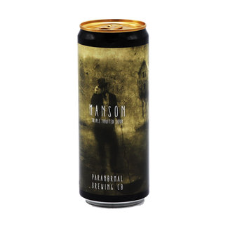 Paranormal Brewing Co. Paranormal Brewing Co collab/ Dry & Bitter Brewing Company  - Manson