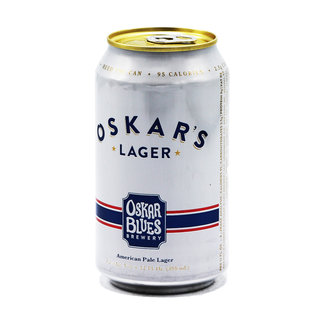 Oskar Blues Brewery Oskar Blues Brewery - Oskar's Lager
