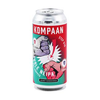 Kompaan Brouwerij Kompaan - Secret Handshakes - Step 9/10: Double Dryhopped Double NEIPA