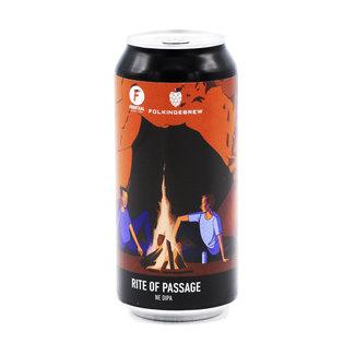 Brouwerij Frontaal Brouwerij Frontaal collab/ Folkingebrew - Rite of Passage