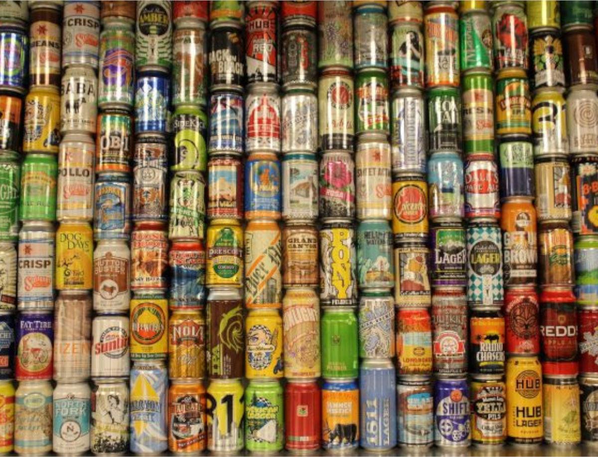 De 5 voordelen van bier in blik