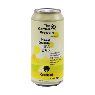 The Garden Brewery The Garden Brewery collab/ CoolHead Brew - Hazy Double IPA #06