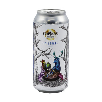Curious Society Curious Society collab/ Larkin's Brewing Co - Pilsner