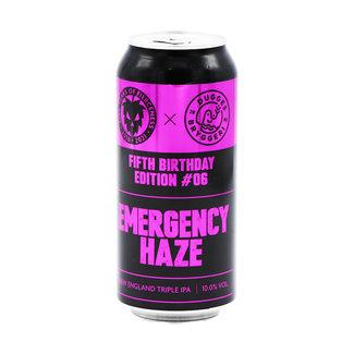 Fierce Beer Fierce Beer collab/ Dugges Bryggeri - Emergency Haze (5th Birthday Edition)