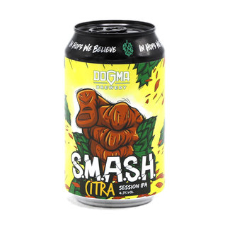 Dogma Brewery Dogma Brewery - S.M.A.S.H. Citra
