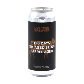 Evil Twin Brewing Evil Twin Brewing - 120 Days Dry Aged Stout Barrel Aged (Coconut)