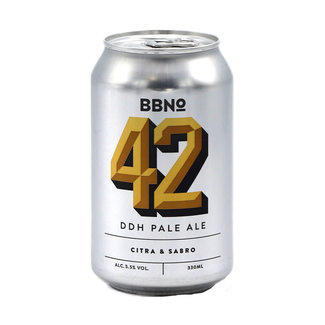 Brew By Numbers Brew By Numbers collab/ BrewDog - 42|DDH Pale Ale – Citra & Sabro