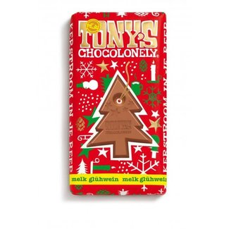 Tony's Chocolonely Tony's Chocolonely - Kerstreep Melk Glühwein