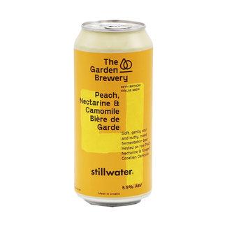 The Garden Brewery The Garden Brewery collab/ Stillwater Artisanal - Peach, Nectarine & Camomille Bière De Garde