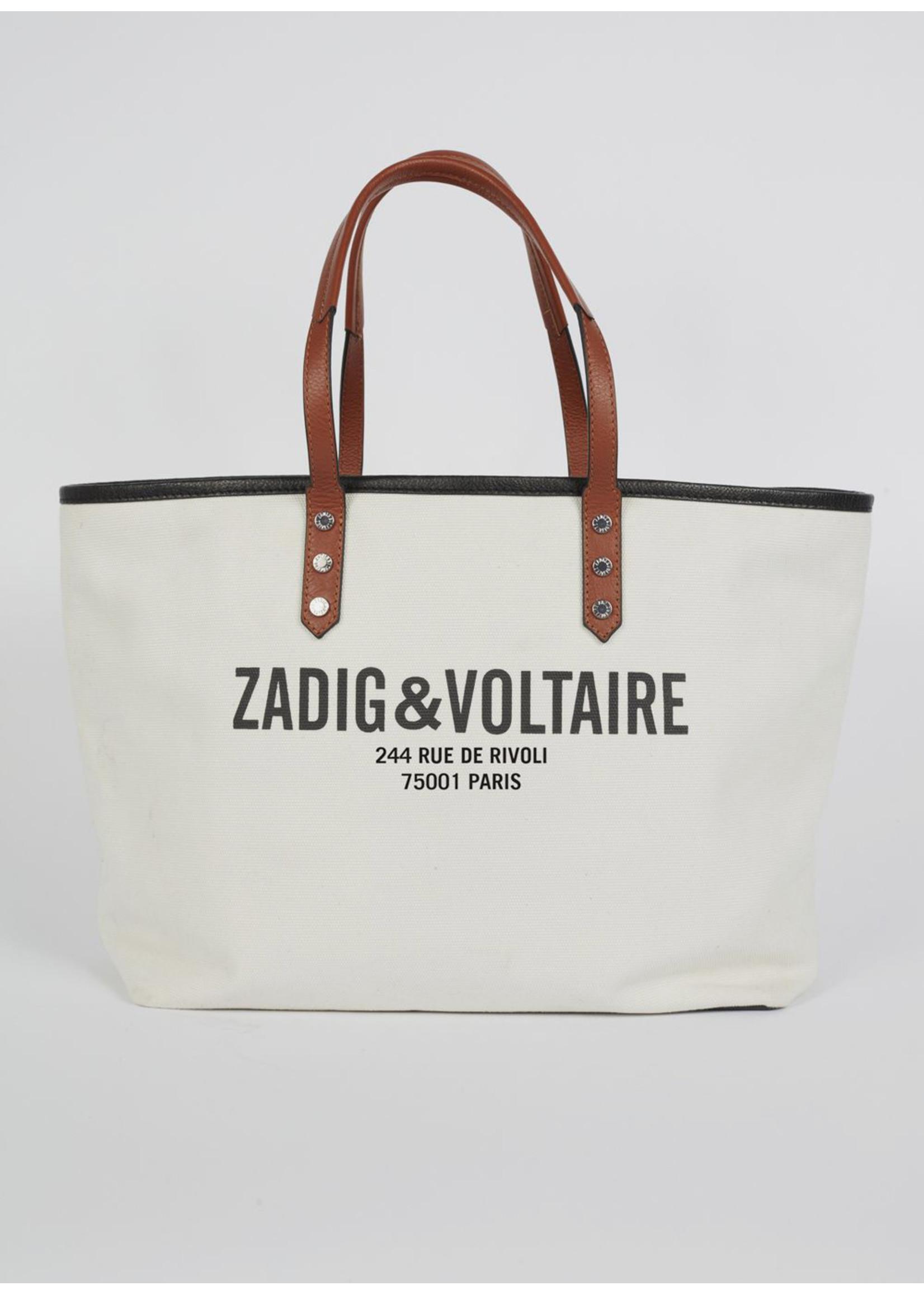 Zadig & Voltaire Mick canvas mon white