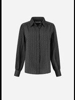 Rough Studios Bibi blouse grey/black