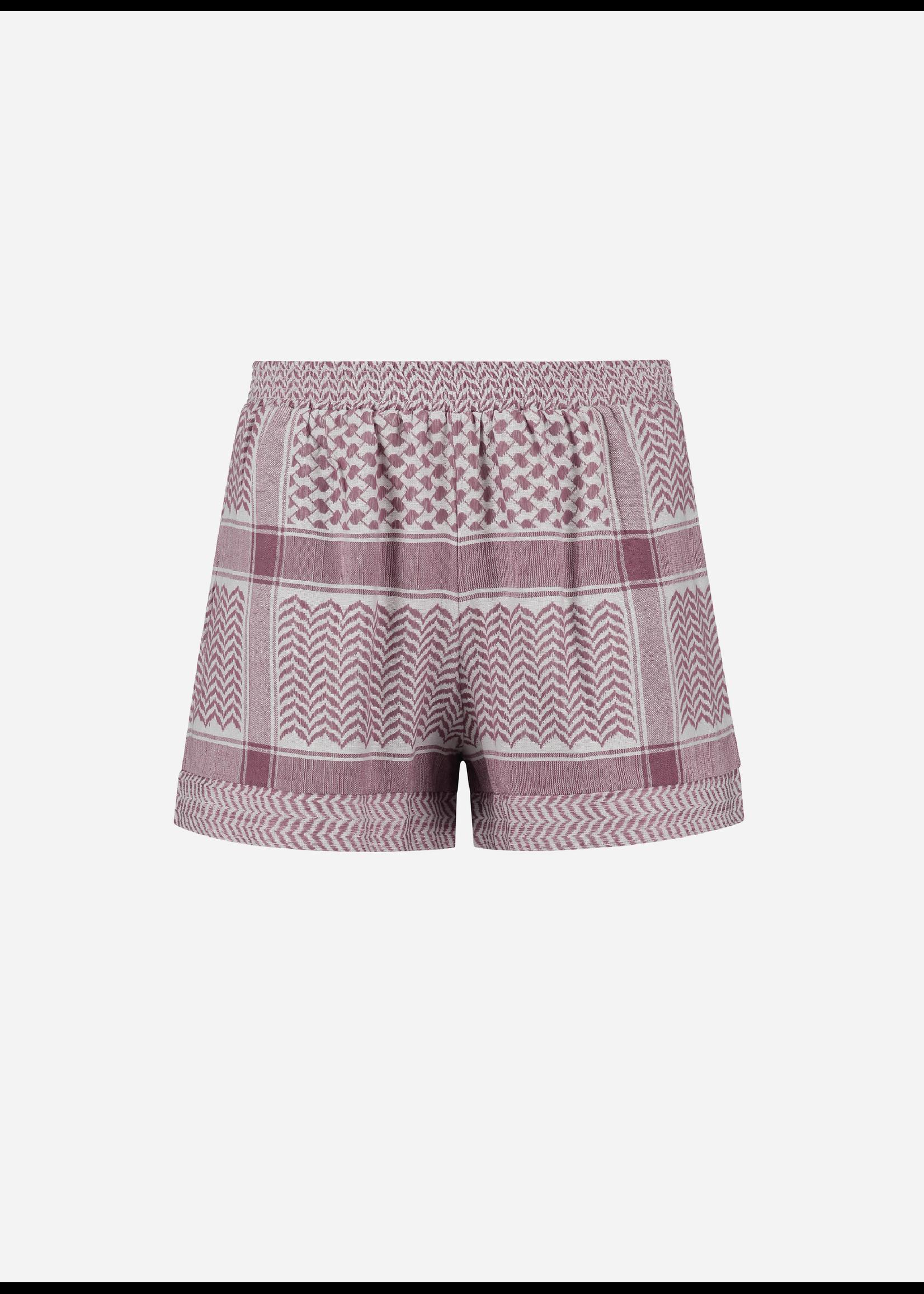 Rough Studios Devito shorts pink/white