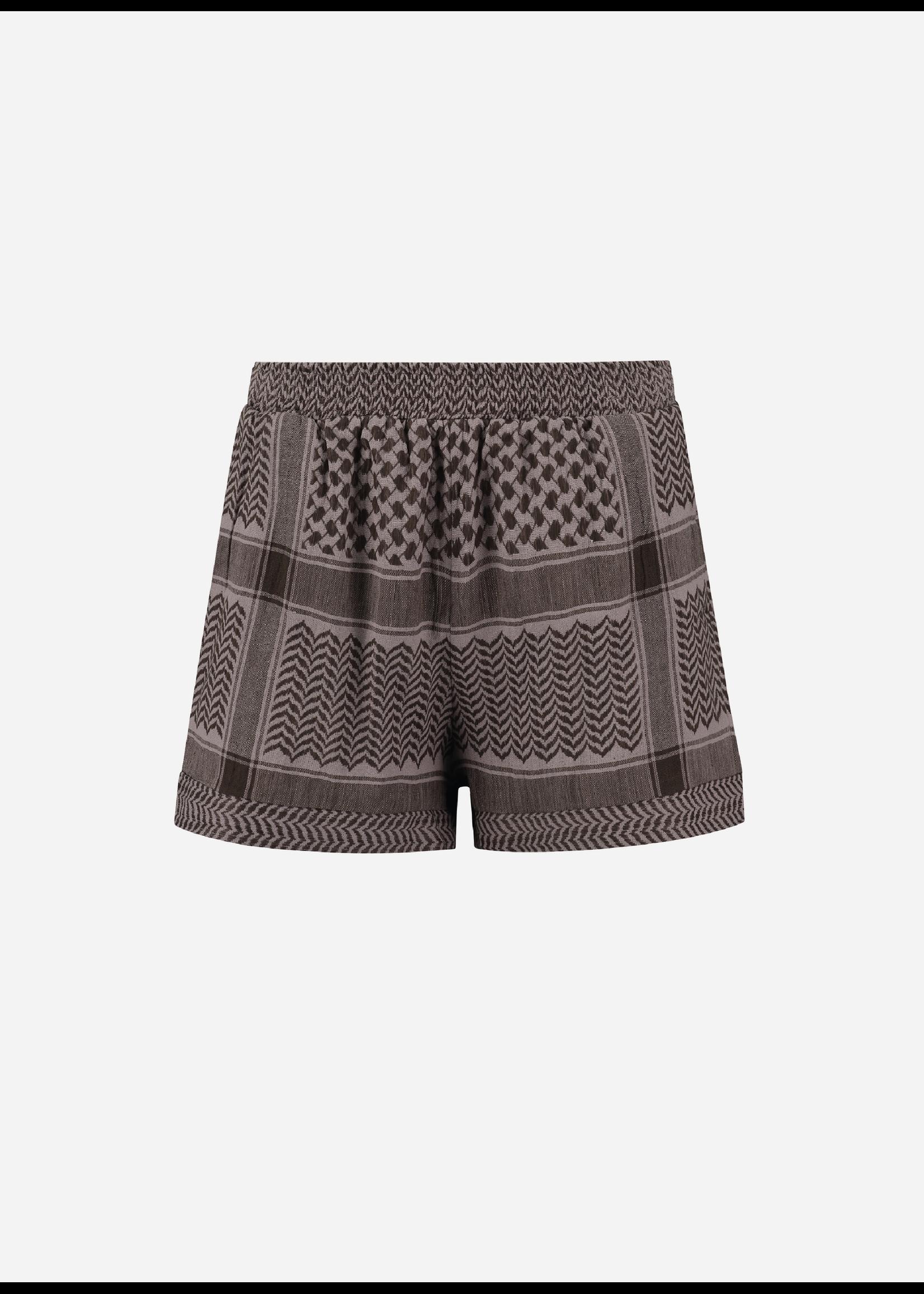 Rough Studios Devito shorts brown/lilac