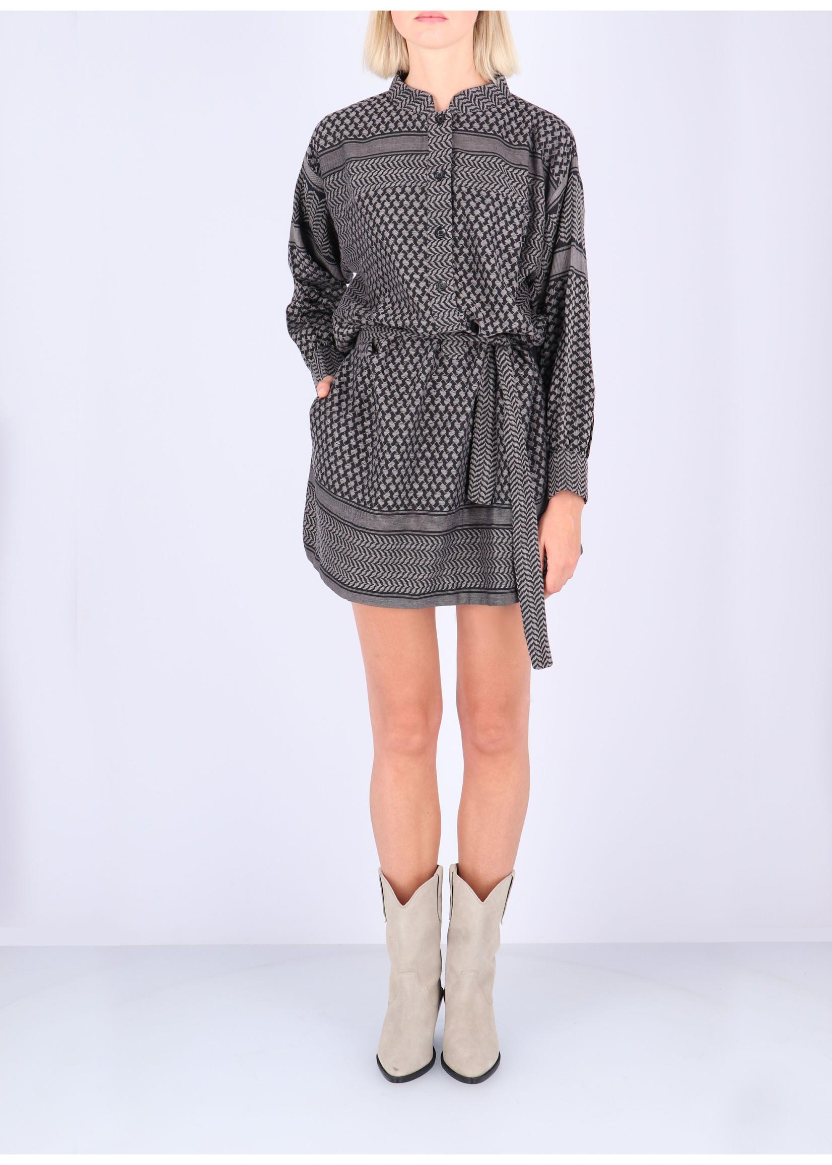 Rough Studios Leila K. Dress grey/black
