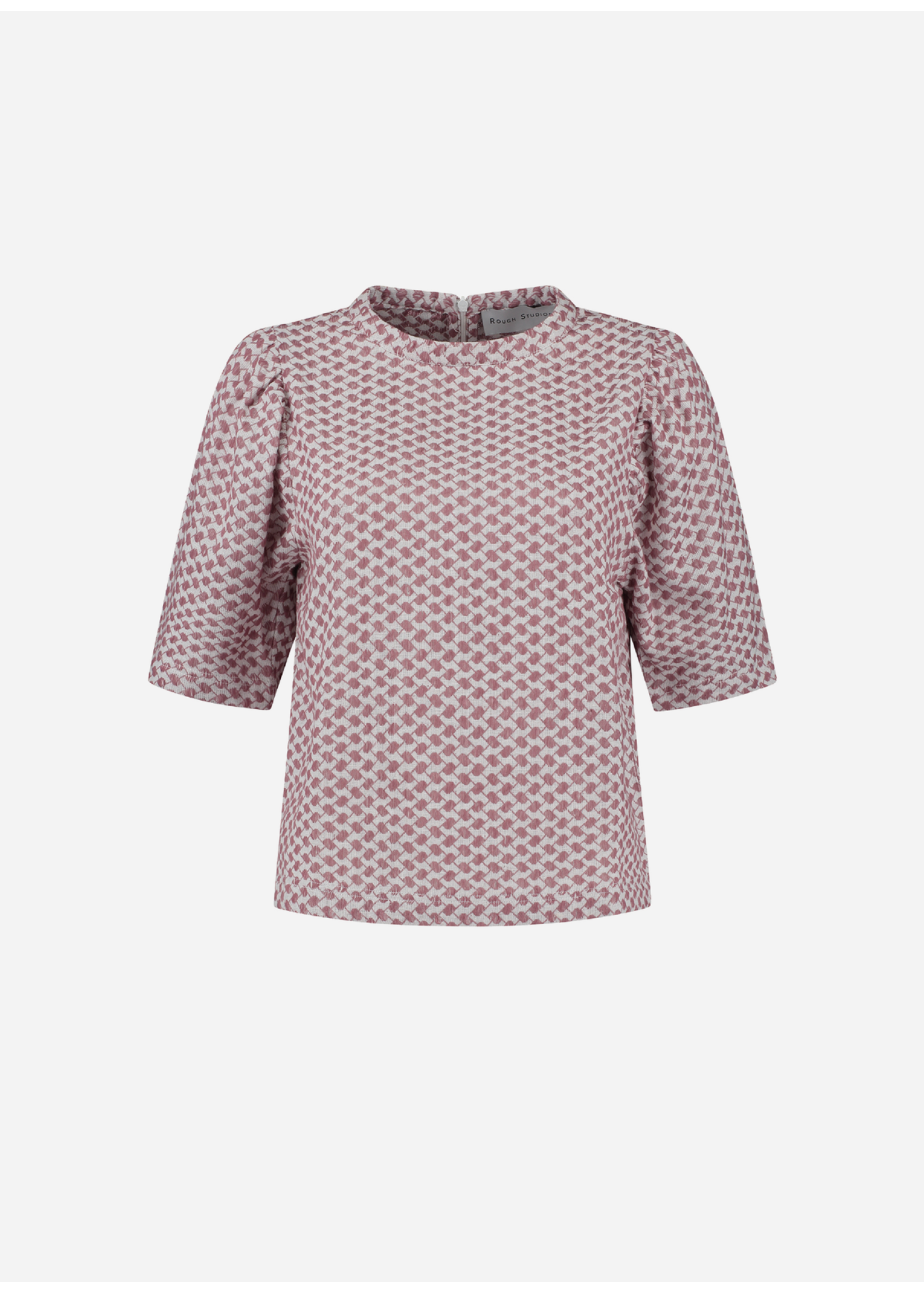 Rough Studios Simone shirt pink/white