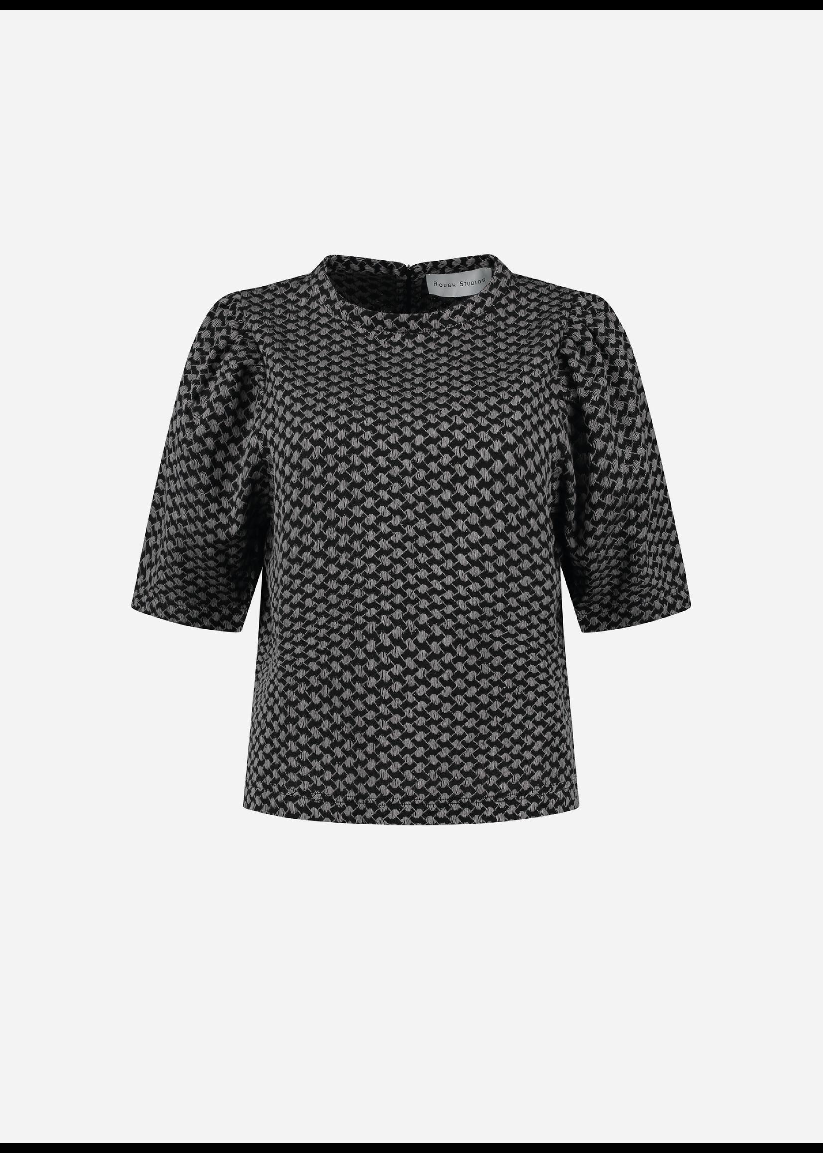 Rough Studios Simone shirt grey/black