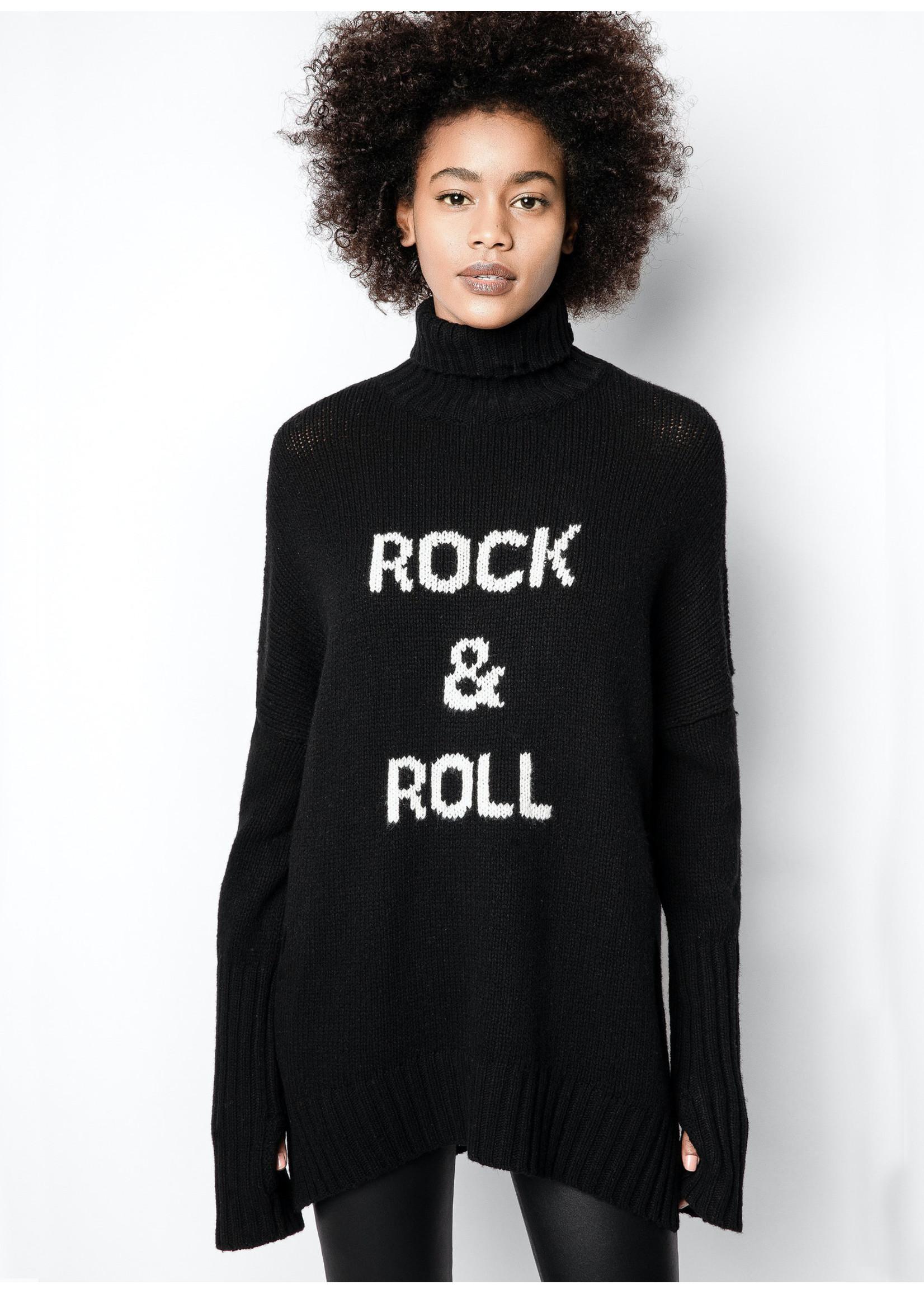 Zadig & Voltaire Alma mw rock black/white