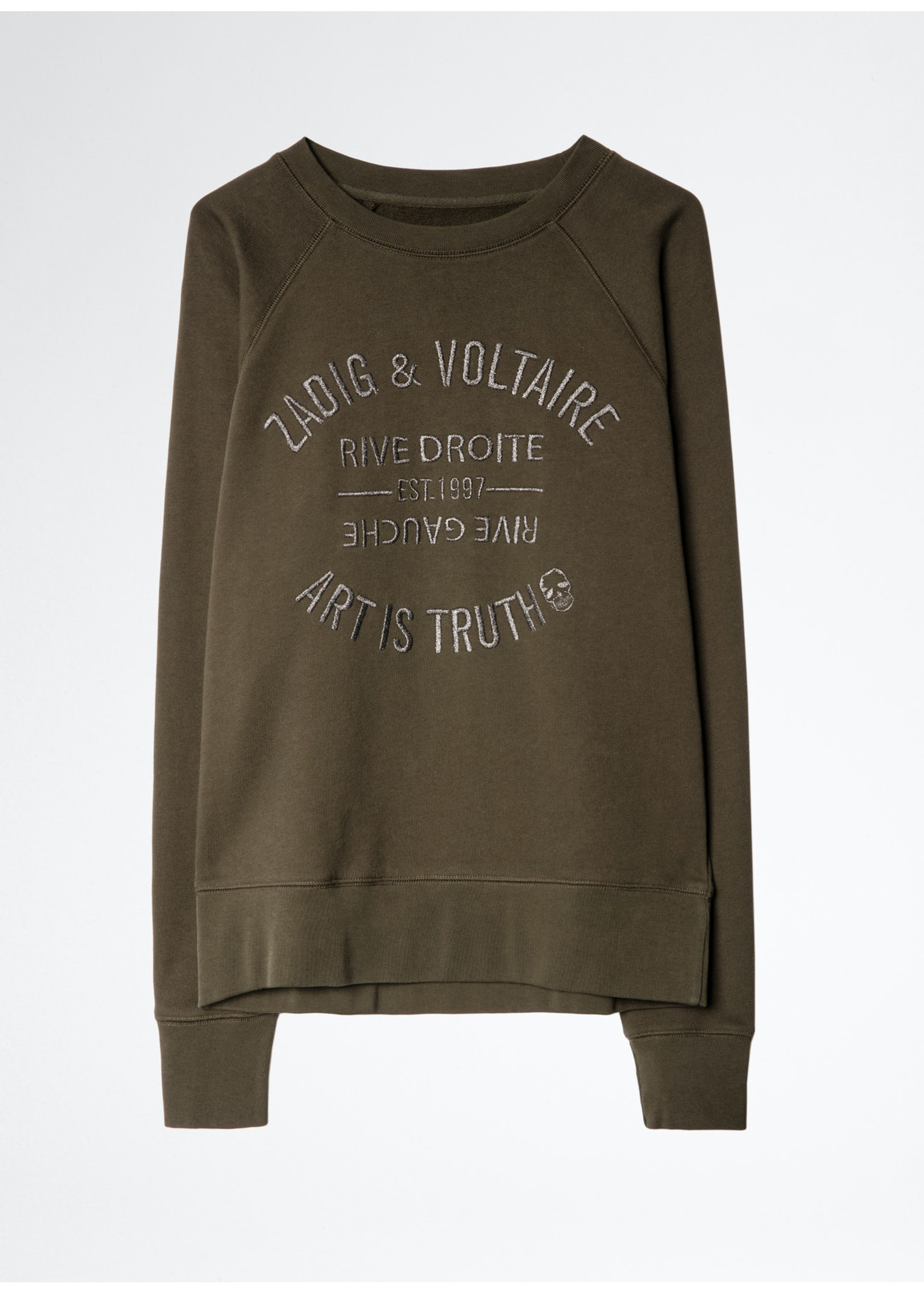 Zadig & Voltaire Upper blason br khaki